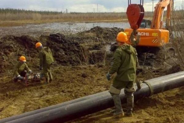 Прокладка труб в Кузбассе завершилась обезвреживанием гранаты