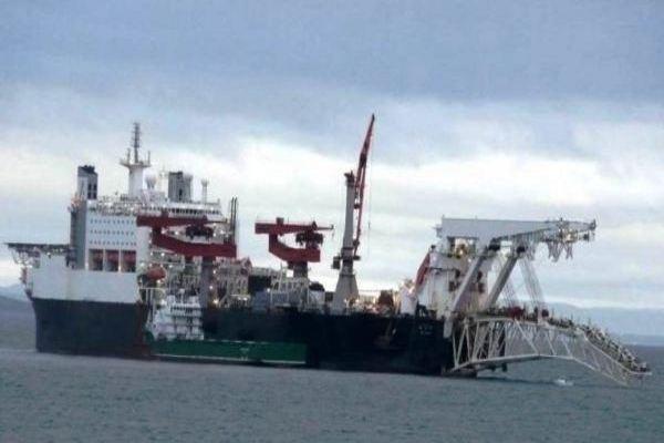 Прокладка «Северного потока-2» подходит к Дании, которая не давала на это разрешение