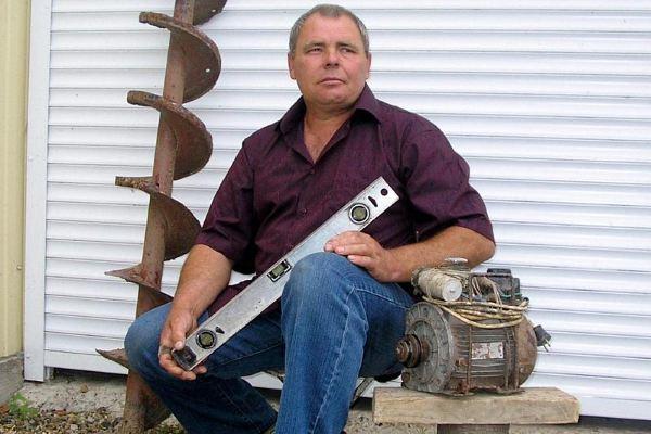 Кубанский изобретатель представил бур для проколов под асфальтом