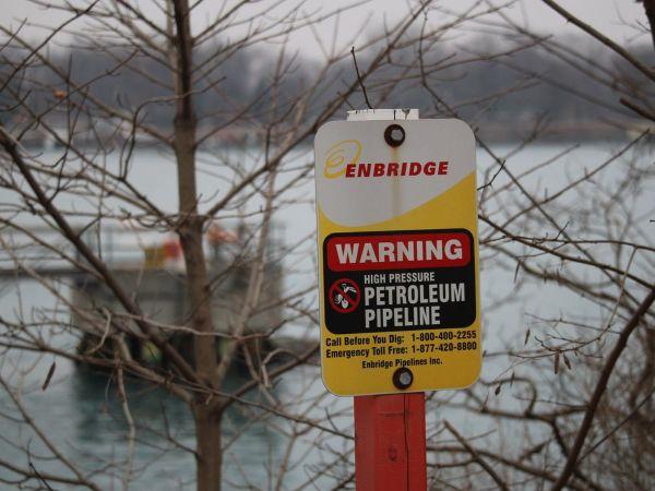 Замена нефтепровода под рекой Сент-Клер – проект на несколько миллионов